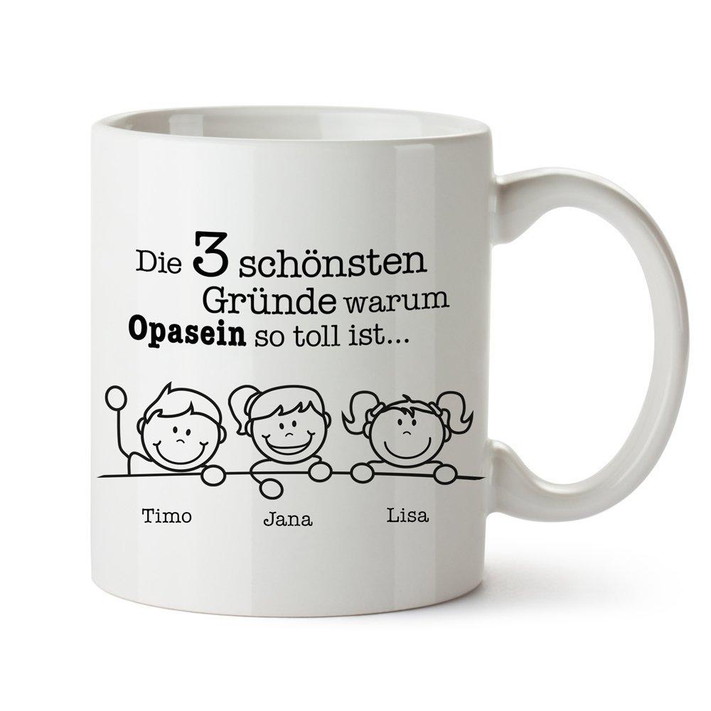 Tasse – Gute Gründe Opa -Personalisiert
